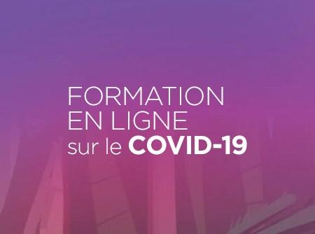 Formation en ligne sur le COVID-19